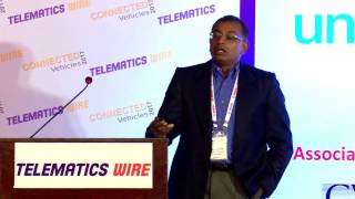 Krish Inbarajan, Global Head of Connected Car, Cisco Jasper - Connected Vehicles 2017, Chennai