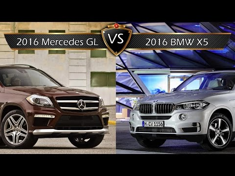 Benz gl vs bmw x5 фото