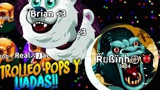 Video TROLLEO, POPS & LIADAS!! | Agar.io | Rubinho vlc MP3, 3GP, MP4, WEBM, AVI, FLV Mei 2019