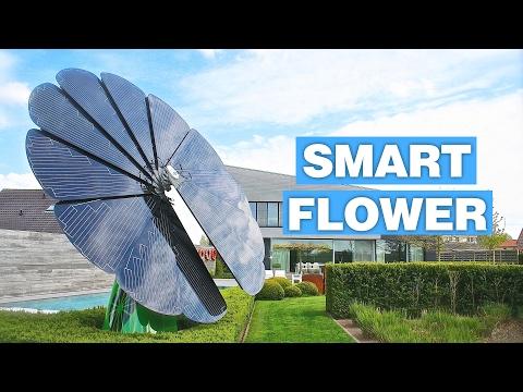 SmartFlower – Tämä aurinkopaneeli on kaunis ja fiksu