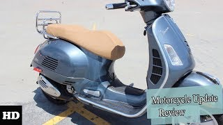 3. NEWS UPDATE !!!2018 Vespa GTS 300 GTS 300 Touring Engine and Price