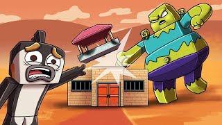 Minecraft | ZOMBIE BASE DEFENSE: New Mega Zombie Attacks! (Fort vs Zombies)