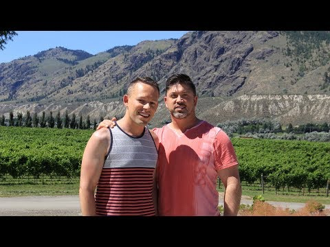 Visiting one of Canada's newest wine regions 👨❤️👨🍷🇨🇦