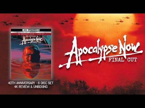 APOCALYPSE NOW: FINAL CUT (40TH ANNY - 6 DISC SET) - 4K ULTRA HD - REVIEW & UNBOXING | BLURAY DAN