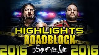 Nonton Wwe Roadblock 2016 End Of The Line Highlights Results   Roadblock 18 12 16 Film Subtitle Indonesia Streaming Movie Download