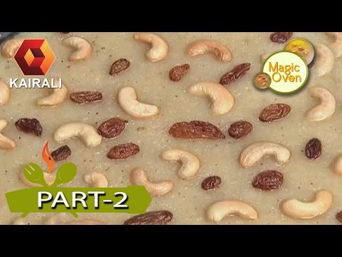 Magic Oven: Coconut Kesari | 12th February 2017