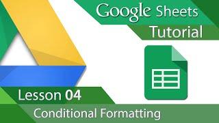 #8 [구글스프레드시트] Google Sheets - Tutorial 04 - Conditional Formatting (영문)