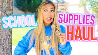 School Supplies Haul 2016! | BACK TO SCHOOL WITH MYLIFEASEVA by MyLifeAsEva