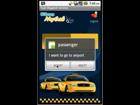 Video of GPS TAXI DISPATCH (Driver)