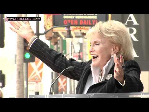 Jane Morgan Walk of Fame Ceremony