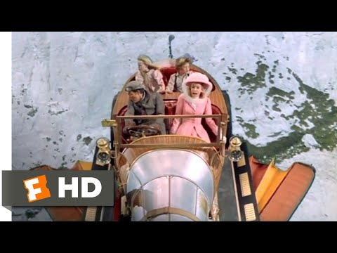 Chitty Chitty Bang Bang (1968) - Chitty Gets Airborne Scene (7/12) | Movieclips