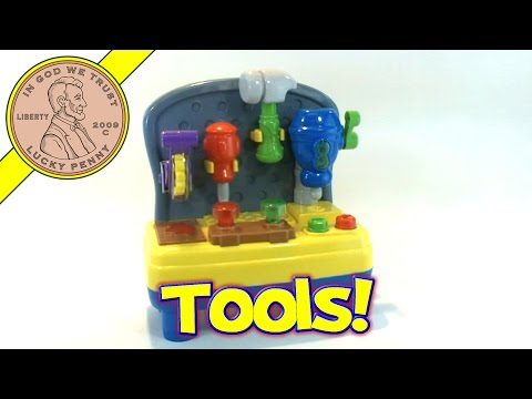 Toys 'R' Us Bruin Mini Musical Light-Up Work Bench Shop Toy