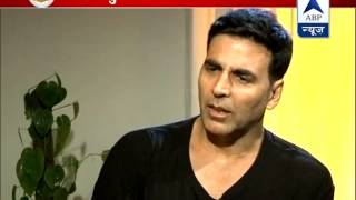 ABP News Exclusive: Akshay Kumar talks about his upcoming film 'Entertainment'