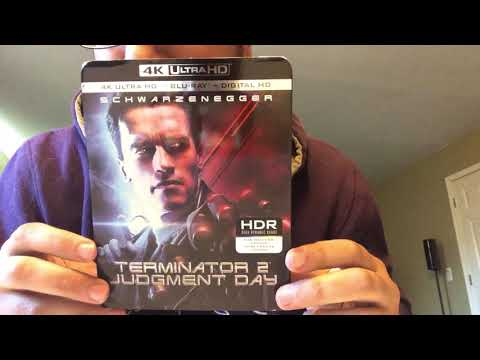 Terminator 2 Judgment Day 4K Ultra HD Blu-Ray Unboxing
