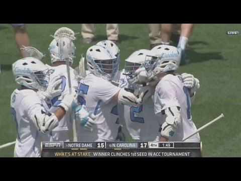 Highlights: North Carolina 17, Notre Dame 15