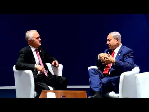 PM Netanyahu Meets Australian PM Turnbull