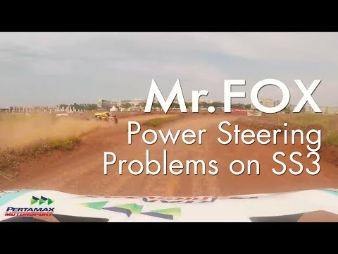 Mr.Fox Onboard Cam - Power Steering Problems On SS3 IXSOR 2017 Putaran 4
