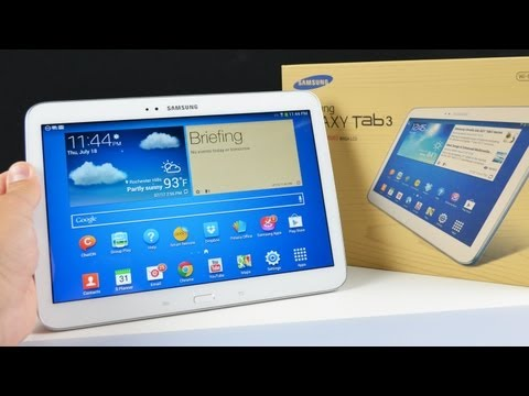 Samsung Galaxy Tab 3 10.1: Unboxing & Review