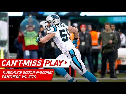 Video: Luke Kuechly's Amazing Scoop-'n-Score for the Go-Ahead TD! | Can't-Miss Play | NFL Wk 12 Highlights