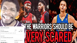 MIKE MADE ME BUY PELICANS TICKETS!! WHY THE DEMARCUS COUSINS TRADE SCARES THE WARRIORS REACTION!
