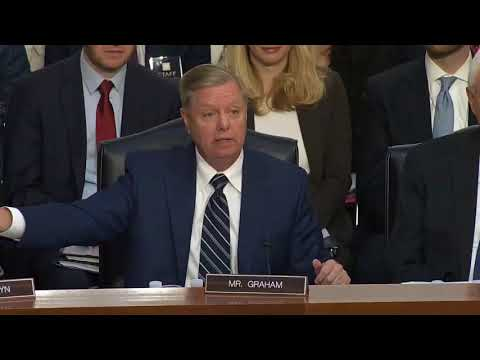 Sen. Lindsey Graham Rips Democrats For 'hypocrisy' During Brett Kavanaugh Hearing