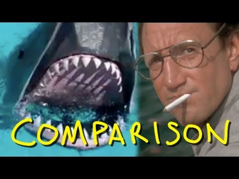 Jaws - You're Gonna Need A Bigger Boat - Homemade (Comparison)