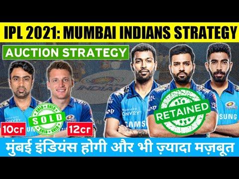 IPL 2021: Mumbai Indians Auction Strategy | IPL 2021 Auction