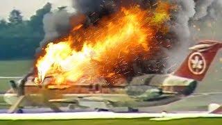 Video Desperate Escape   Plane Catches Fire After Landing   Air Canada Flight 797   4K MP3, 3GP, MP4, WEBM, AVI, FLV April 2019