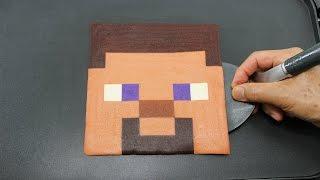 Minecraft Steve PANCAKE