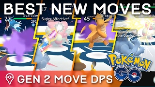 BEST *NEW* MOVESETS FOR ALL GEN 1 & GEN 2 POKÉMON IN POKÉMON GO by Trainer Tips