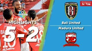 Video Bali United Vs Madura United: 5-2 All Goals & Highlights MP3, 3GP, MP4, WEBM, AVI, FLV Oktober 2017
