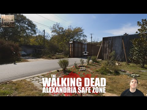 tour alexandria - the walking dead