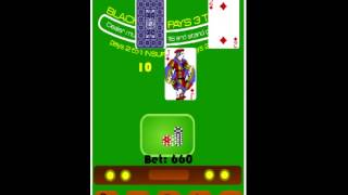 BlackJack Casino Card Game YouTube video