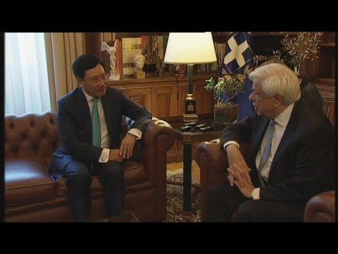 Πρ. Παυλόπουλος: Η Ελλάδα στοχεύει στην περαιτέρω συνεργασία με το Βιετνάμ