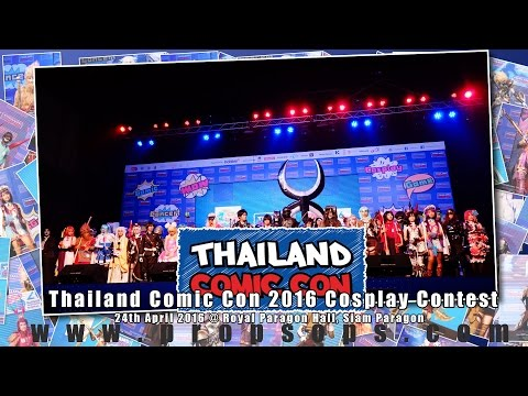Thailand Comic Con 2016 Cosplay Contest