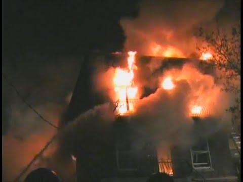 2011 - Incendie à Montréal (10-15) - 1er Mars 2011 - (VERSION AMÉLIORÉE)