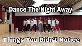 Video Things You Didn't Notice - TWICE Dance The Night Away (Dance Practice) MP3, 3GP, MP4, WEBM, AVI, FLV Juni 2019