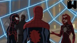 Ultimate Spider Man Return to the Spider-Verse: Part 1 looking at other universe
