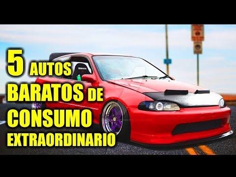5 AUTOS BARATOS DE CONSUMO EXTRAORDINARIO