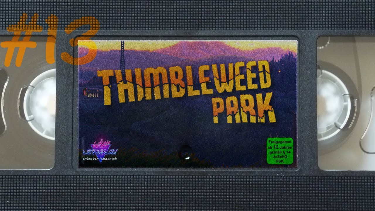 #13 - Paranormal Activity   Let's Play Thimbleweed Park