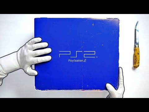 PS2 UNBOXING! Original Playstation 2 Phat Console + God of War Gameplay