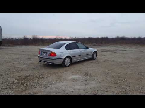 Bmw E46 316i Drift on mud ! 105 hp !