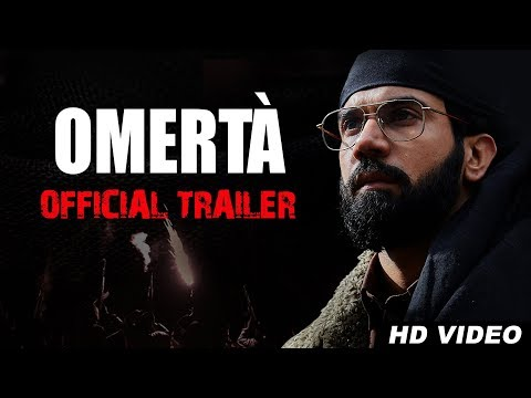 Omertà Trailer | Rajkummar Rao | Hansal Mehta | R