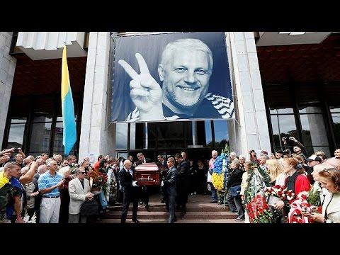 Κίεβο: Κηδεύτηκε ο δημοσιογράφος Παβέλ Σερεμέτ