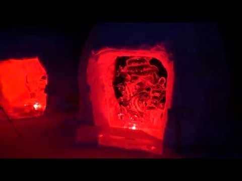 奥日光湯元温泉雪まつり 全日本氷彫刻奥日光大会