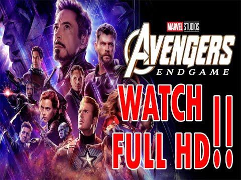watch & download Avengers Endgame 2019 full movie HD 720p & 1080p