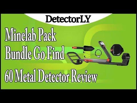 Minelab Pack Bundle Go Find 60 Metal Detector Review