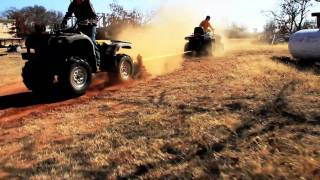 6. ATVs going head to head yamaha grizzly 660 vs Arctic cat 550 H1