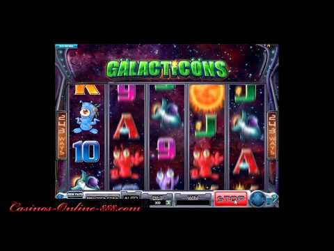 Galacticons Slot Machine by Microgaming - Casinos-Online-888.com