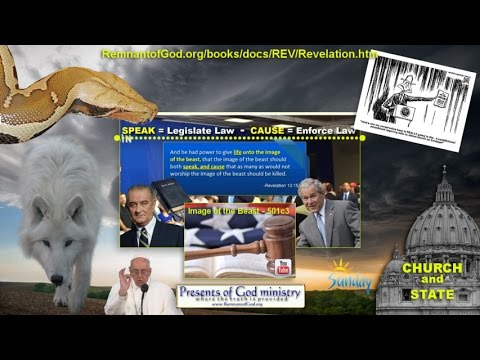 BREAKING NEWS!! Trump, 501c3 Govt Preachers and Sunday Laws!